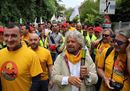 Grillo in marcia ad Assisi: «I veri francescani siamo noi»