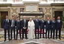 """Papa Francesco a Lazio e Juventus: """"Siate testimoni di lealtà"""""""