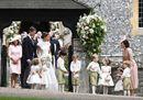 Le nozze quasi reali di Pippa Middleton. E i principini George e Charlotte fanno i damigelli