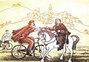 Vico Calabrò, l'artista che da 30 anni disegna il Giro d'Italia