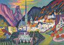Quando Kirchner cercò la pace a Davos, la mostra a Cecina