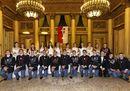 Le debuttanti con gli allievi della Scuola Militare Teulli+¿ -  - foto giuseppe arrighi e fabio strada.JPG