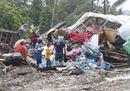 La devastazione dello tsunami in Indonesia