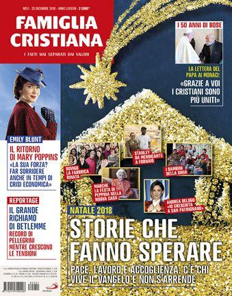 791eeebfdd Edicola - Famiglia Cristiana