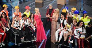 i concorrenti di SanremoYoung  durante la presentazione del taleny alla scorsa edizione del Festival di Sanremo