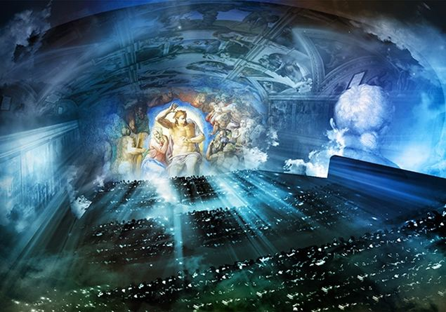 Cappella Della Giudizio Segreti Sullo UniversaleI SistinaTutto QCWorxedB