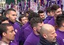 Davide Astori, l'omaggio dei compagni della Fiorentina