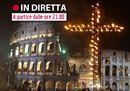 Papa Francesco presiede la Via Crucis dal Colosseo in diretta
