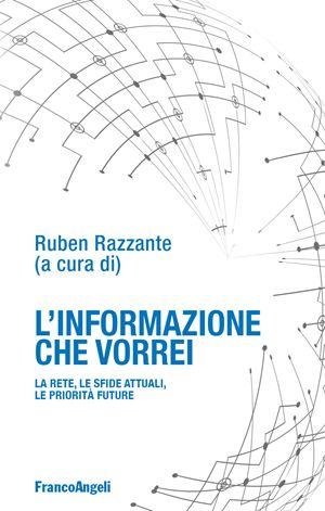 """La copertina del volume """"L'informazione che vorrei"""" (Franco Angeli Editore)"""