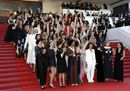 A Cannes la marcia delle donne