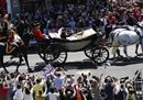 Si reale: le immagini delle nozze del principe Harry con Meghan
