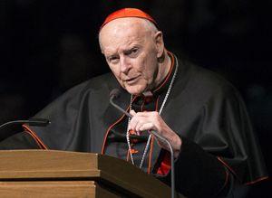 Il cardinale Edgar Mccarrick, 88 anni.