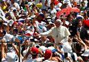Siate protagonisti nel bene: il mandato del Papa ai giovani nelle foto più belle