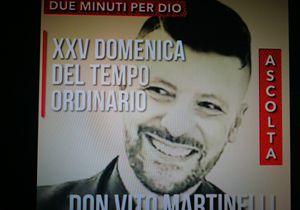 «Due minuti per Dio», la riflessione di don Vito Martinelli