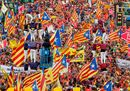 Diada, marcia a Barcellona ancora nel segno dell'indipendentismo
