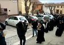 Le monache tornano a Norcia nel container di clausura