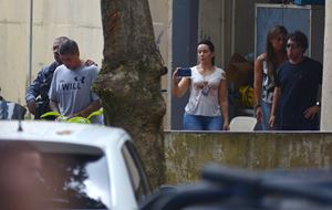 L'arresto di Ronnie Lessa, sospettato dell'omicidio di Marielle Franco.