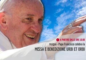 Diretta streaming, papa Francesco celebra la Santa Messa di Pasqua, messaggio e benedizione Urbi et Orbi