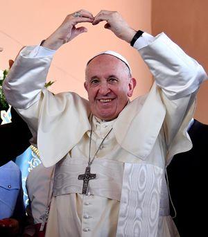 Papa Francesco a Panama durante la Giornata mondiale della Gioventù del gennaio scorso (Ansa)
