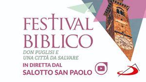 In diretta dal Festival Biblico 2019: Don Puglisi e una città da salvare