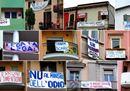 Ironia e protesta: l'Italia degli striscioni anti-Salvini