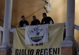 78ac511c76 Il primo atto dei leghisti a Ferrara, violare la memoria di Giulio Regeni