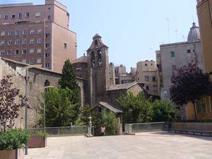La chiesa di Sant'Anna, Barcellona, fulcro religioso della comunità italiana.